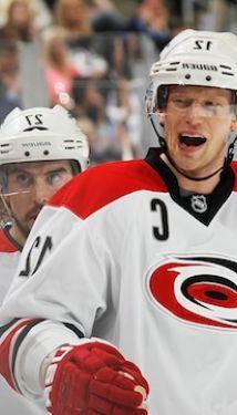 NHL Central Division First Round: Carolina Hurricanes vs. Nashville Predators - Home Game 1, Series Game 1